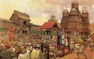 Причины распада Древней Руси