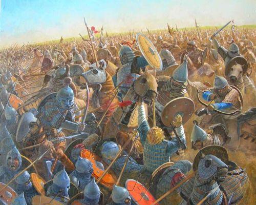 Битва на реке Калка в 1223 году