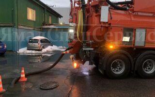 Борьба с засорами: промывка канализации