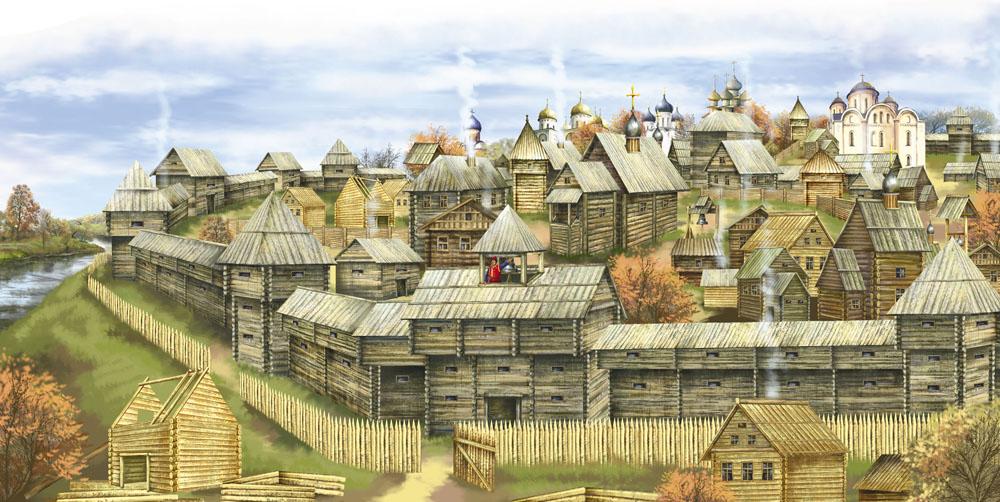 киевская русь рисунок