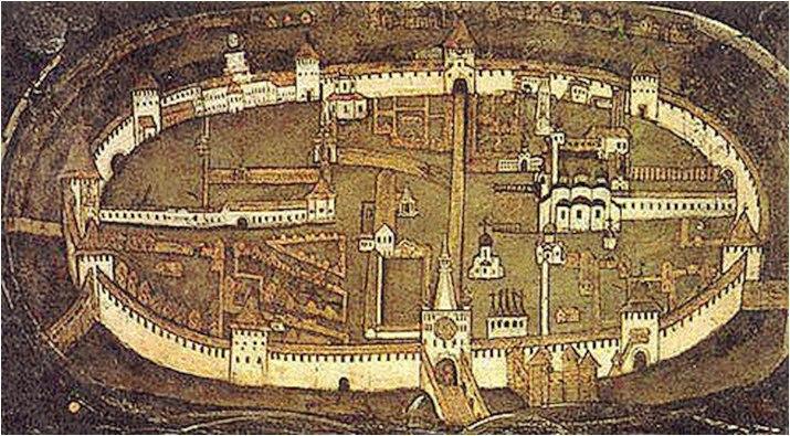 новгородское княжество рисунок