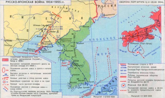 Русско-японская война 1904-1905-гг