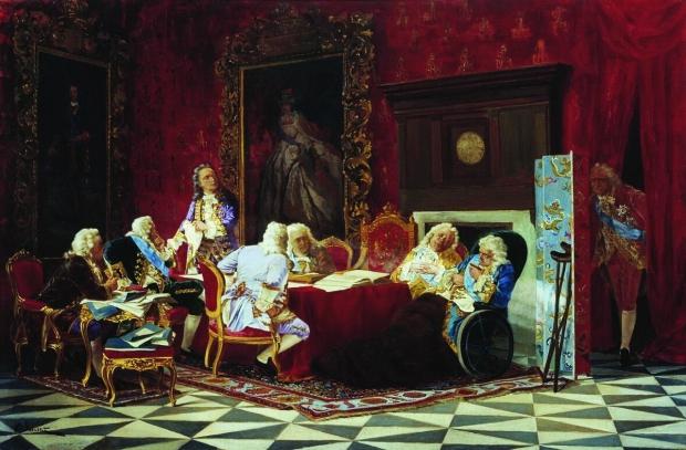 эпоха дворцовых переворотов кратко