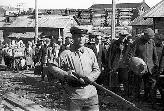 сталинские репрессии кратко