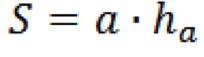 формула площади параллелограмма