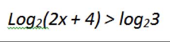 логарифмические неравенства