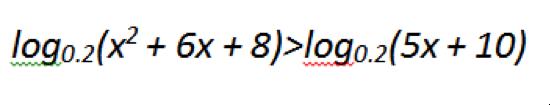 логарифмические неравенства3